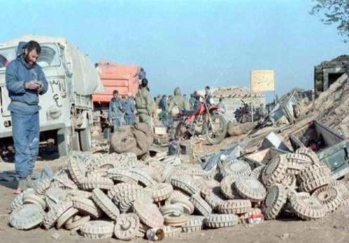 mines-iran irak