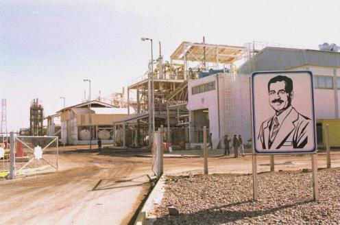 planta de gas venenoso iraquí