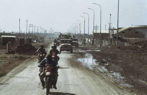 tropas iranies capturan la peninsula de al faw febrero de 1986