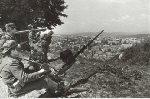 Guerra de los Diez Días 1991. d