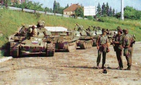Guerra de los Diez Días 1991.