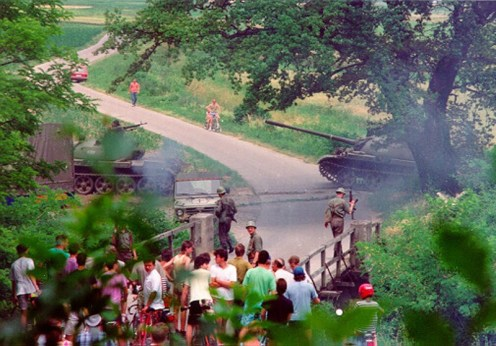 Guerra de los Diez Días 1991