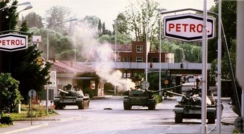 guerra de los diez dias 1991-Rožna_Dolina.