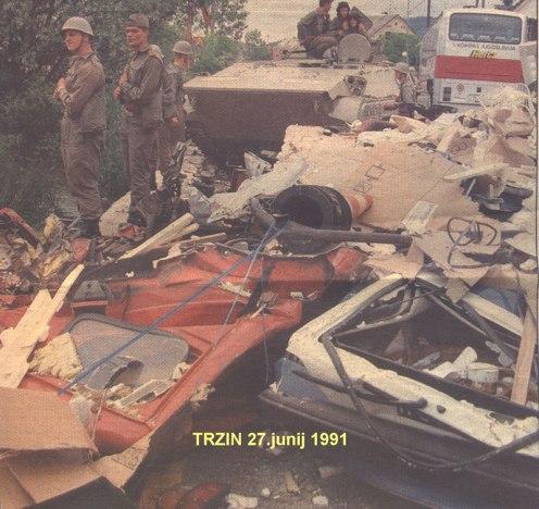 guerra de los Diez Dias 1991