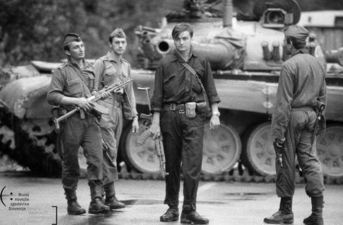 Guerra de los diez dias 1991.