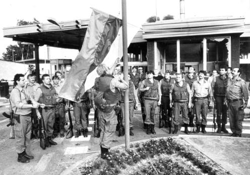 vojna guerra de los diez dias 1991-