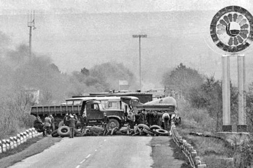 cosacos bloquean_dubasari - guerra de transnistria 1992