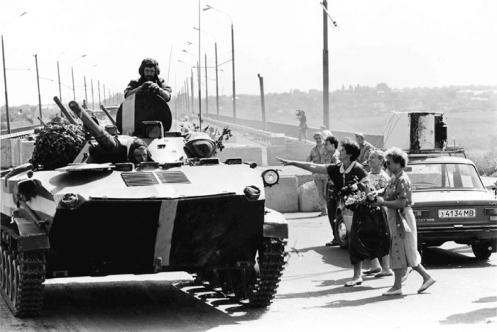 Transnistria recibió el apoyo de la Federación de Rusia 14a Ejército de la Guardia en su guerra contra Moldavia en 1992.