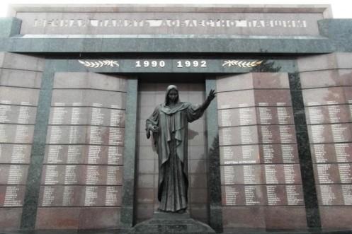 Monumento a los caidos - guerra transnistria 1992