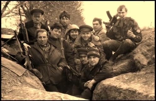 voluntarios ucranianos -guerra de transnistria