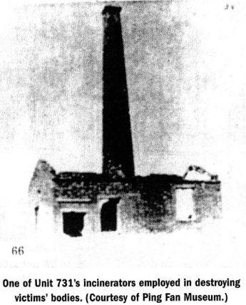 crematorio unidad 731