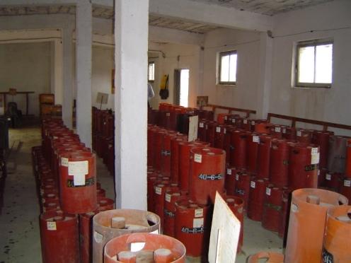 armas quimicas de albania
