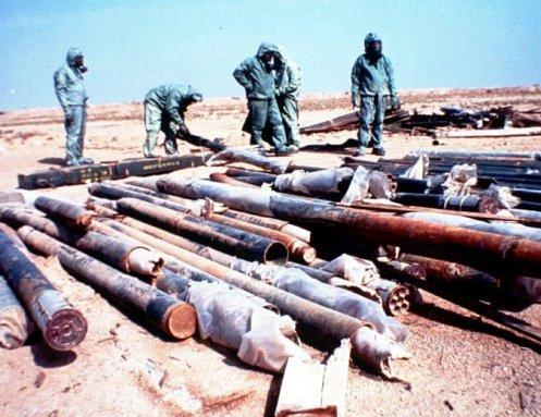 cohetes iraquies -gas nervioso