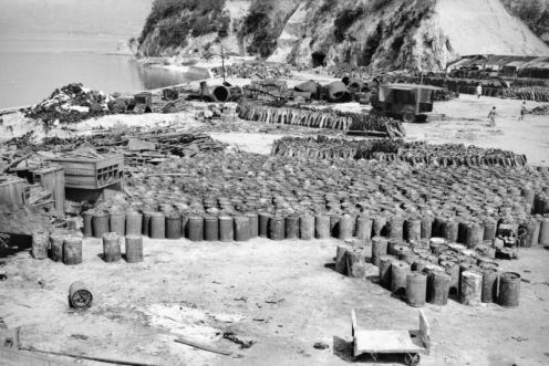 contenedores de gas mostaza japonés-ww2f
