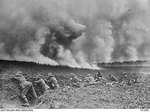 gas venenoso - primera guerra mundial