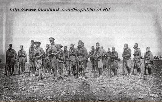 Guerra del rif-mascaras antigas.2