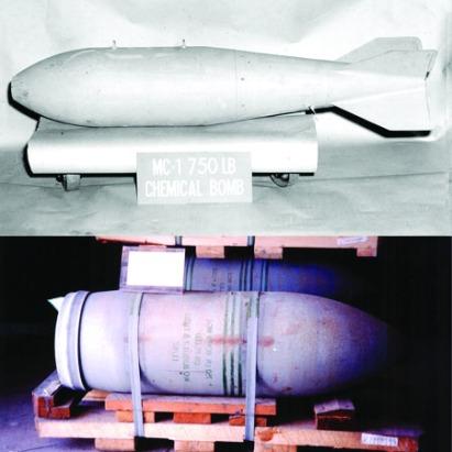 MC-1_bomba quimica de gas Sarín
