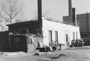 restos de la fabrica de gas venenoso japonés