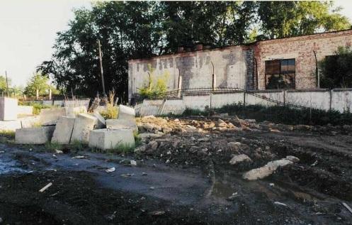 restos planta de Sverdlovsk