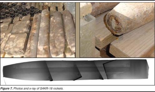 sarin 122mm cohete