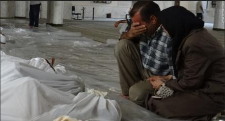 siria ataque con gas nervioso