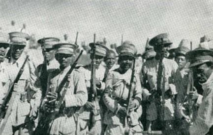 soldados abisinios