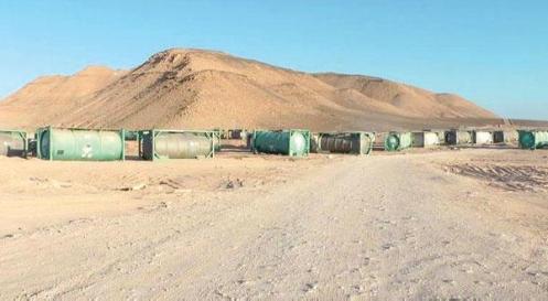 tanques quimicos de libia