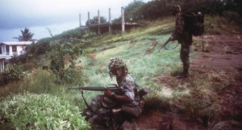 82 división aerotransportada -granada 1983