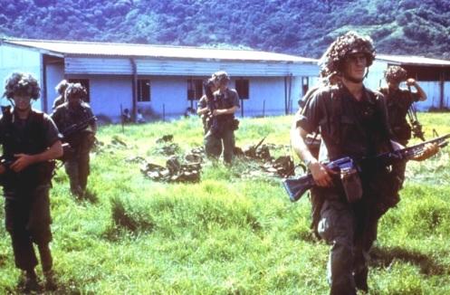 82 division aerotransportada -invasión de Granada 1983.