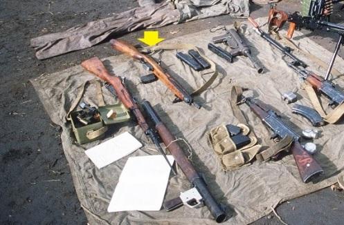 armas confiscadas -invasión de Granada 1983d