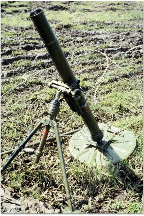 bm 37 mortar-invasión de Granada 1983