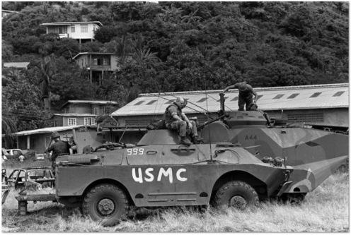 BRDM-2 invasión de Granada 1983 d
