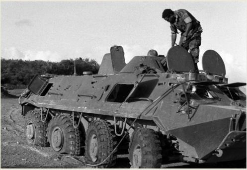 BTR-60 Invasión de Granada 1983 (2)
