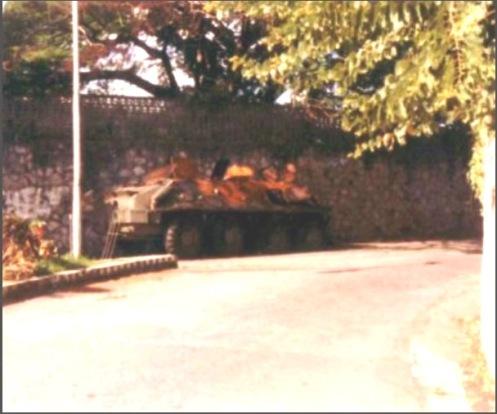 BTR-60 INVASIÓN DE GRANADA 1983.4