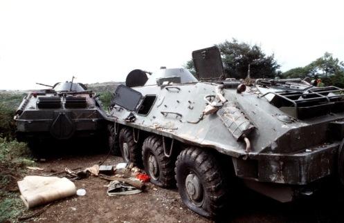 btr-60 invasión de Granada 1983