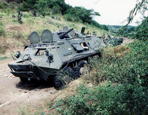 -BTR-60PB_Urgent_Fury- invasión de Granada 1983