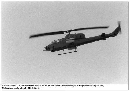 Cobra AH-1 invasión de Granada 1983-