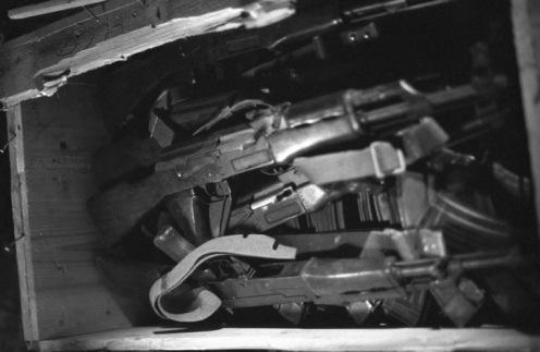 fusiles AK-47-invasión de Granada 1983.