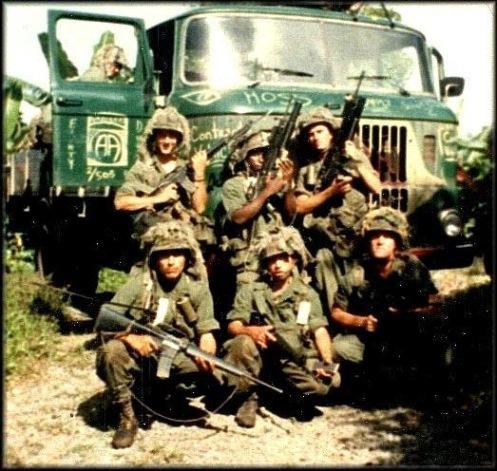 Invasión de Granada 1983-82 division aerotransportada