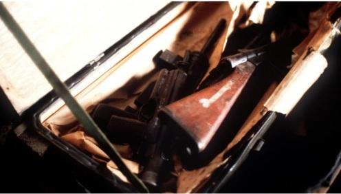Invasión de Granada 1983-armas capturadas al ERP de Granada