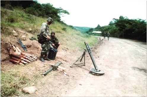 Invasión de Granada 1983-mortero M29