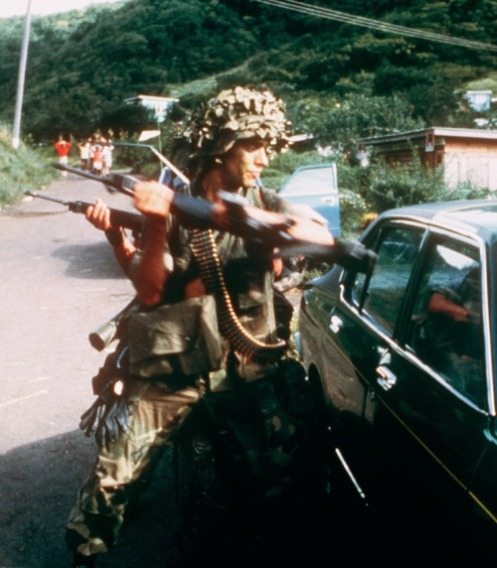 Invasión de granada 1983-paracaidista