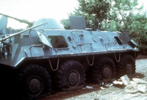 Invasión de Granada 1983-vehiculo BTR-pb
