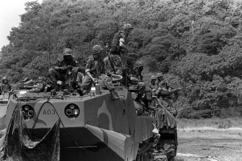 Invasión de Granada 1983.