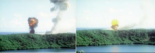 Invasión de Granada Explosión 1983.