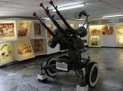 M53 is an anti-aircraft mounting of four 12.7 mm heavy machine guns vz. 3846