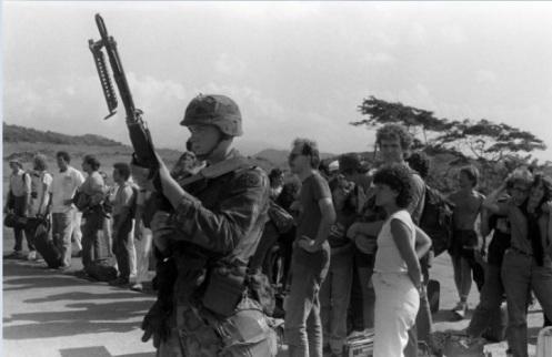 M60 invasión de Granada 1983