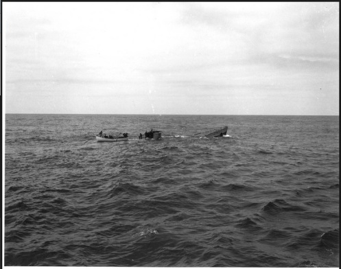 hundimiento del U-175