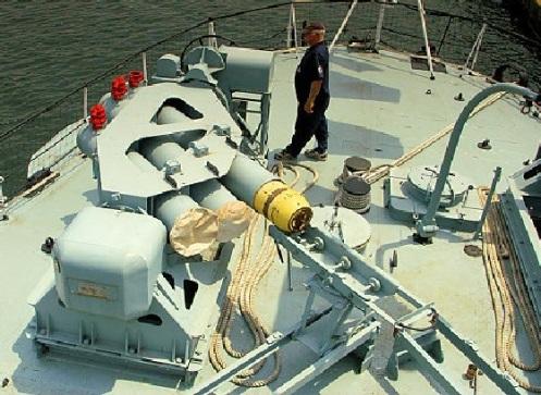 mortero triple Calamar