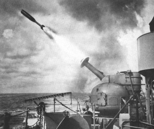 RUR-4_Weapon_Alpha_launch_c1958